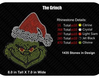 The Grinch Rhinestone Download