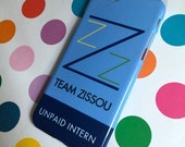 The iPhone 4/5/5c/5s/6 Samsung S4/S5 case of the Unpaid Intern of the Team Zissou, inspired by Wes Anderson's Life Aquatic with Steve Zissou