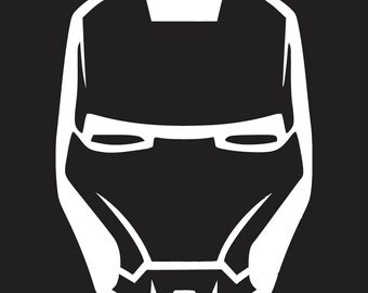 Iron Man Tony Stark Decal Sticker