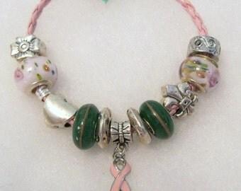 410 - Think Pink - Breast Cancer Awareness Bracelet