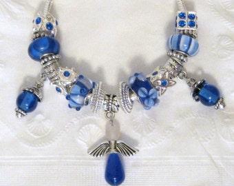 399 - Blue Angel Bracelet