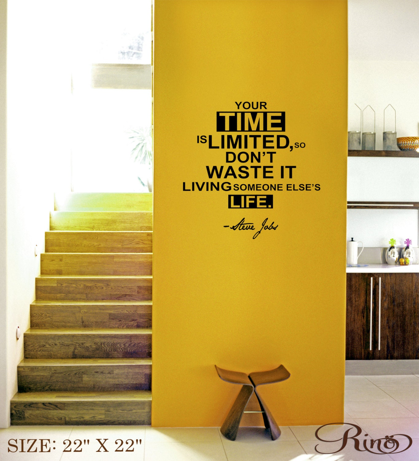 Interesting Inspirational Wall Art Stickers 2 Photos Design Ideas ...