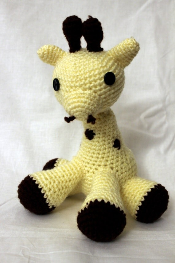 Giraffe- Stuffed Animal- Amigurumi