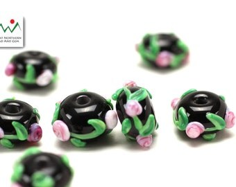 Glass Beads,Lampwork Beads,Hand Made Beads,Lampwork Glass,ETS1044