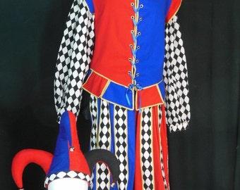 Men's Royal Jester's Costume