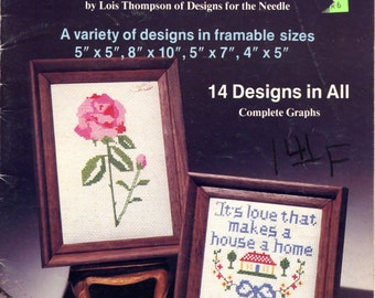 Cross Stitch Designs for Framing #7452 by Lois Thompson