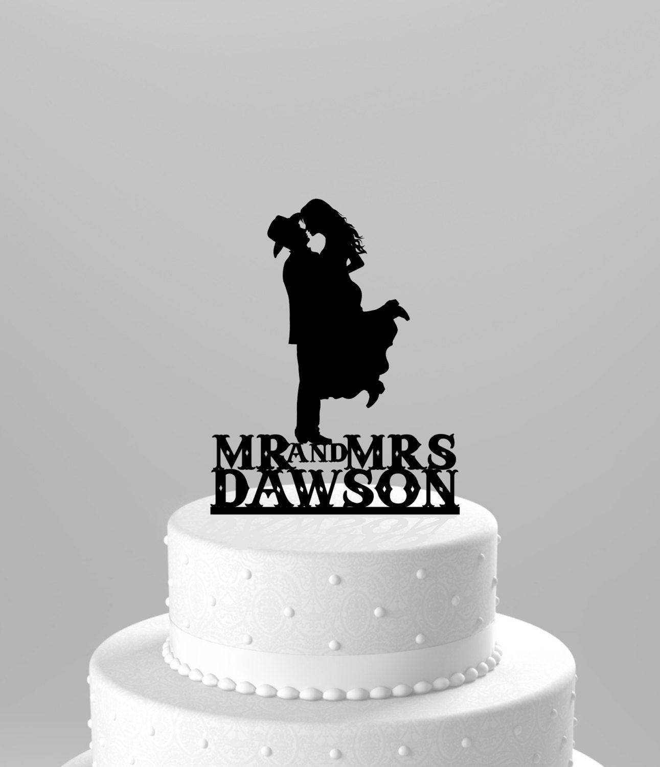 western cake toppers for wedding cakes country western wedding cake topper silhouette cowboy with hat 27015
