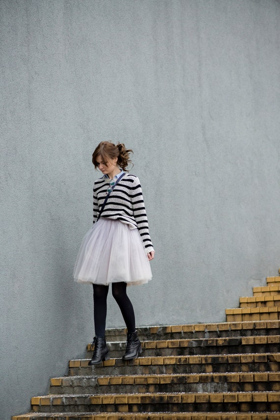 Blooming Ballerina : hand dyed tulle skirt  / adult tutu / ladies tulle skirt / bridesmaid / custom dyed skirt  / lavander tulle skirt