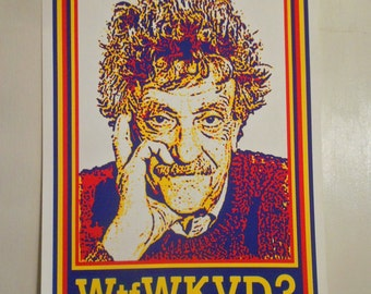 Poster - Wtf Would Kurt Vonnegut Do?