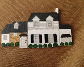 Custom Handcrafted Wood House Ornament