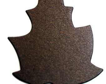 Favor Tags | Paper Tags | Gift Tags | Cardstock Leaf - 50/set | Heavy Leaf Tag | Leaf Card | Leaf Confetti | Chipboard Cards