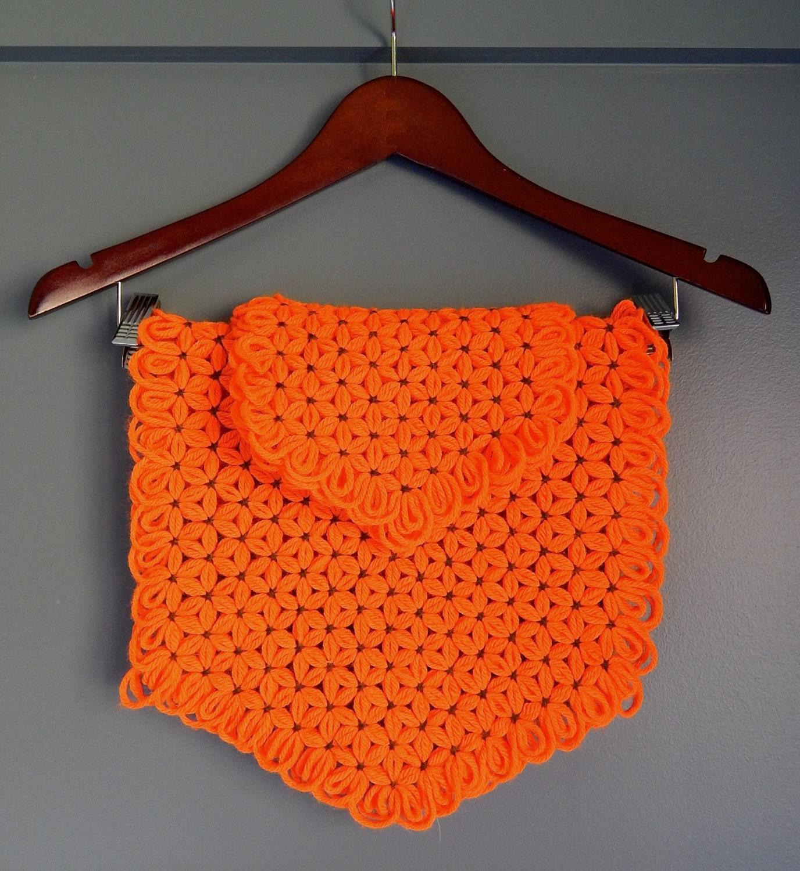 Crochet Placemats : Vintage Handmade Crochet Placemats & by NashvilleKindofLife