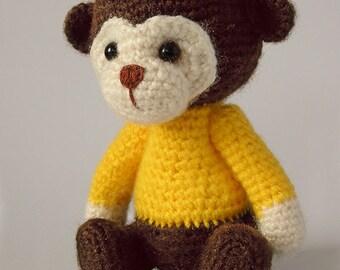 Crochet Monkey Biba
