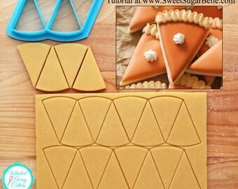 Mini Pumpkin Pie Cookie Cutter & Fondant Cutter for Sweet Sugar Belle's Cookie Design