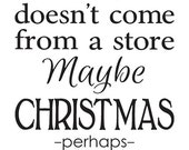 """Primitive Christmas/Holiday STENCIL**Maybe Christmas Perhaps...The Grinch**12""""x24"""" for Painting Signs, Airbrush, Crafts, Wall Art and Decor"""