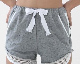 The Breaker Shorts (Grey) - Track Shorts