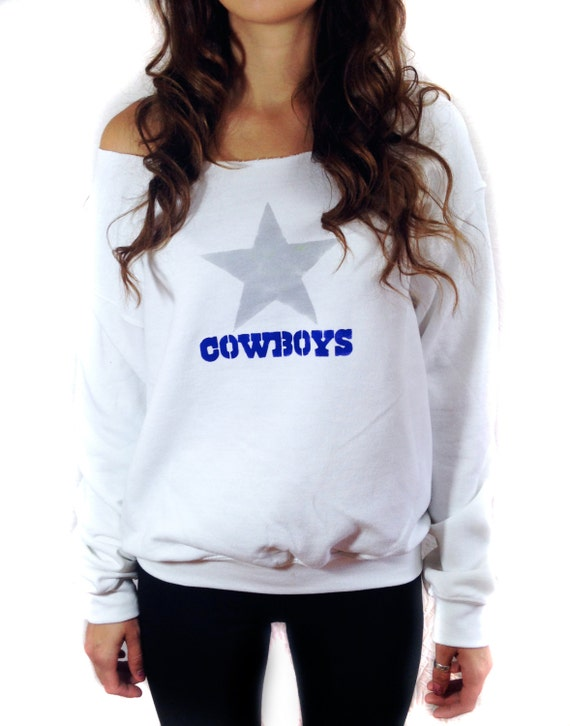 dallas cowboys sweatshirt fan gear nfl football by