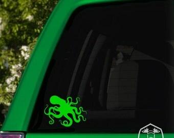 Kraken Octopus Car Window Decal