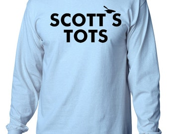 "Scott's Tots Long Sleeve T-shirt - the TV Show ""The Office"""