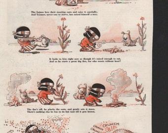 """Original Good Housekeeping cartoon """"Yoomee"""" by James Swinnerton 1930s, 8x11 in. - Kids234"""