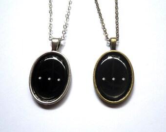 Ellipsis necklace