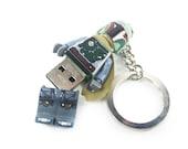 Lego Star Wars USB Boba Fett Minifig Keychain
