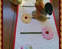 Easy Applique Quilt Pattern Table Runner, Betty Alderman Designs, Spring Has Sprung  PDF