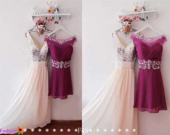 Beige Bridesmaid Dresses Style R101 Short: Items Similar To Prom Dress,Long Sequin Prom Dress,Sparkly