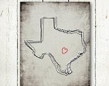 texas printable texas print digital download, texas print grey instant download, texas black and white texas state map, jpg neutral wall art