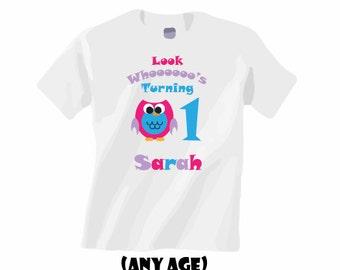 Children's bday shirts