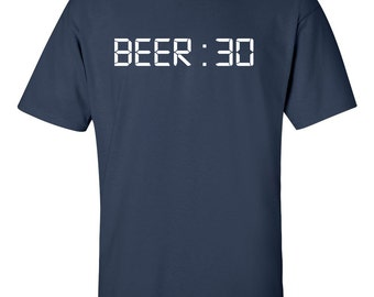 Fathers Day Funny Beer T-Shirt | Beer 30 | Time For Beer | Drinking Buddy | Mens Beer T Shirt | Shirt Humor | Gift For Him | Father's Day