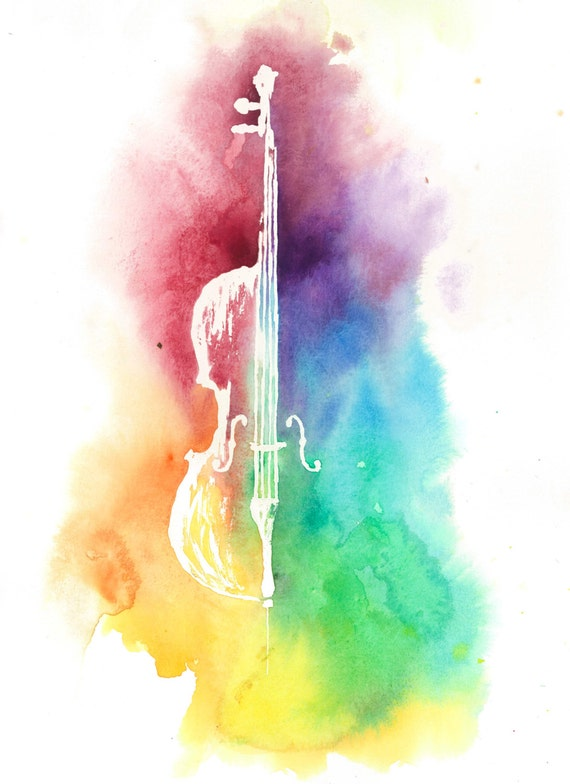 Watercolor Colorful Ce...