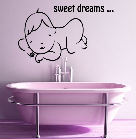 Attirant Sweet Dreams Wall Decals Baby Wall Sticker By WallDecalswithLove