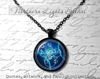 Doctor Who Custom Gallifreyan Necklace gallifreyan pendant Dr who tardis Doctor who jewelry PERSONLALIZED name timelord companion time lord