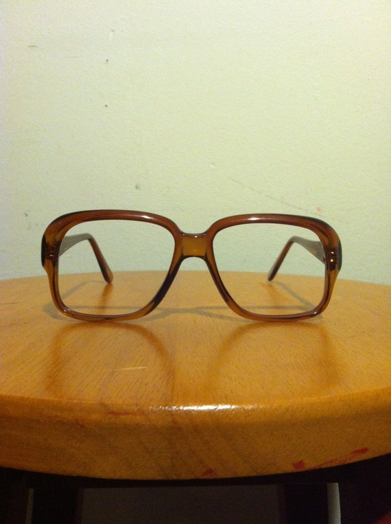 vintage chicago style eyeglass frames no lenses made by
