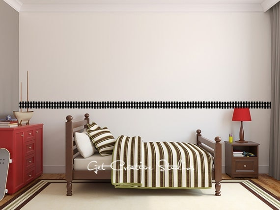 Train Decal Train Track Decal Train Wall Decal Locomotive