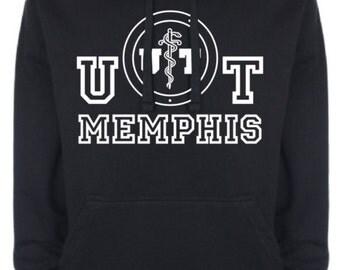 UT Memphis / Men's / Women's / Hoodie / Vintage / Retro / Elvis Presley / College / University / 60's / Music / Gift / NEW