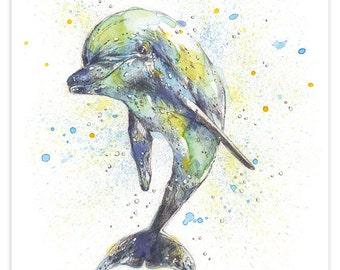 Little Dolphin Print