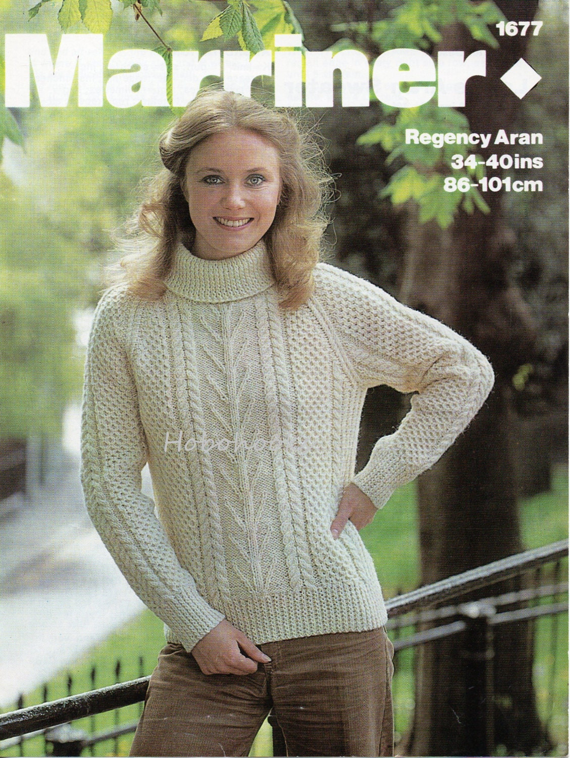 Womens knitting pattern womens aran sweater polo neck crew neck womens knitting pattern womens aran sweater polo neck crew neck aran jumper pattern 34 40 inch ladies knitting pattern pdf instant download bankloansurffo Gallery