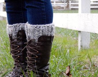 Leg Warmers for Women ~ Gray Marble ~ Leg Warmers ~ Bull Run