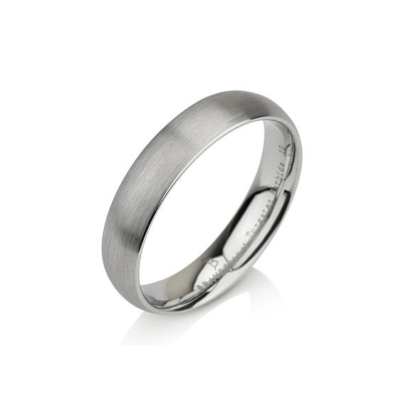 Tungsten Wedding Bands, Brushed Polish, Brushed Finish ,Comfort Fit ,Unisex Tungsten Ring, Handmade Custom Anniversary 5mm