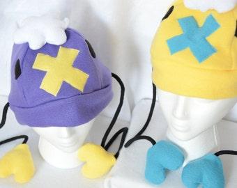Pokemon Drifloon Fleece Hat Shiny