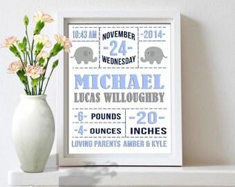 Birth stats Wall Art, Baby Birth Stats, Personalized Birth Stats, Custom Birth Stats, Birth Stats Print, Baby stats Printable, DIY, Download