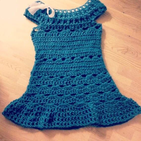 Crochet Simple Dress Pattern : Crochet dress PATTERN Crochet PATTERN Crochet easy dress