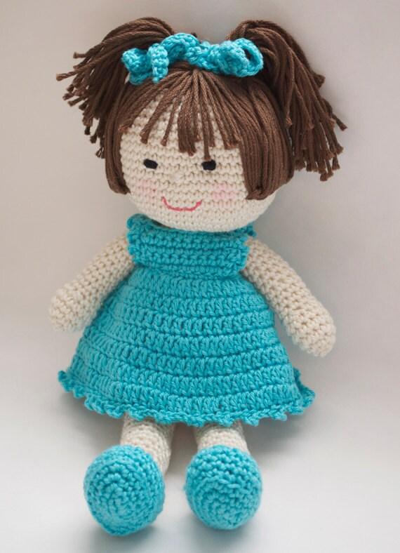 Amigurumi Patterns Download : Crochet Doll Pattern Amigurumi PDF instant download Marcy