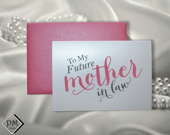 Wedding Gifts For Future Mother In Law : Gift for mother in law wedding card in laws present from bride groom ...