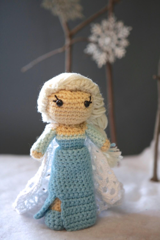 Crochet Elsa Doll : Crochet Elsa Doll by YarnPossible on Etsy