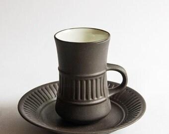 Dansk Design, Vintage Danish IHQ Jens Quistgaard Flamestone Coffee Cup