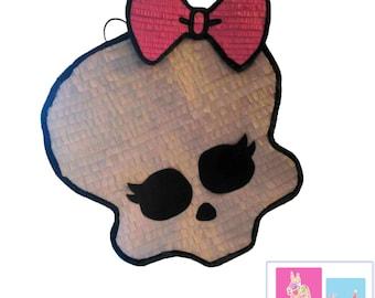 The Monster High skull pinata