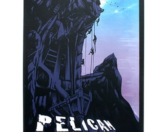 Gig Poster: Pelican UK show, screen-print